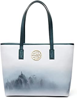 Flower Handbags For Women PU Tote Bags For Women Tote Handbags For Women Black Shoulder Handbags Women Big Handbags