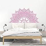 Mandala flor pegatinas de pared sala de estar dormitorio decoración de la pared arte de fondo autoadhesivo pegatinas de flores A3 43x88cm