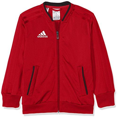 adidas Kinder Trainingsjacke Condivo 18, Power Red/Black/White, 140, CF4337