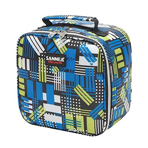 JenK Cing Kühltasche, Wasserdicht Lunchbox Tasche Picknick-Tasche, mit Isolationszeit bis zu Stunden lagern Funktionelle isolierte Picknick Zip Pack wasserdichte Aufbewahrungstasche(C)