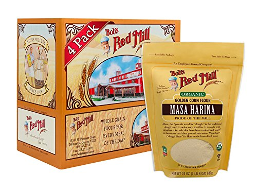 Bob's Red Mill Masa Harina Flour, 24 oz, Set of 4