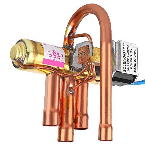 Weikeya 1P 1.5p-2P de cobre de rendimiento de sellado de bomba de calor válvula de aire acondicionado