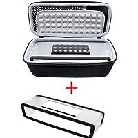 Poschell duro caso bolsa de viaje de almacenamiento Caja de protección + suave funda para Bose SoundLink Mini Altavoz inalámbrico portátil con Bluetooth 1 & II