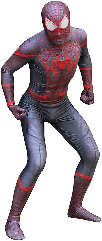 para barato TOYSJuegoS Spiderman Spiderman Spiderman Ultimate Miles CosJugar Disfraz de Adultos Medias de una Pieza Escenario Mostrar Accesorios Disfraces de Halloween ( Color   A , Talla   XXXL )  Tienda 2018