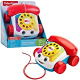 Fisher-Price Mon Telephone Mobile Jouet Bebe, cadran factice rotatif , pour...