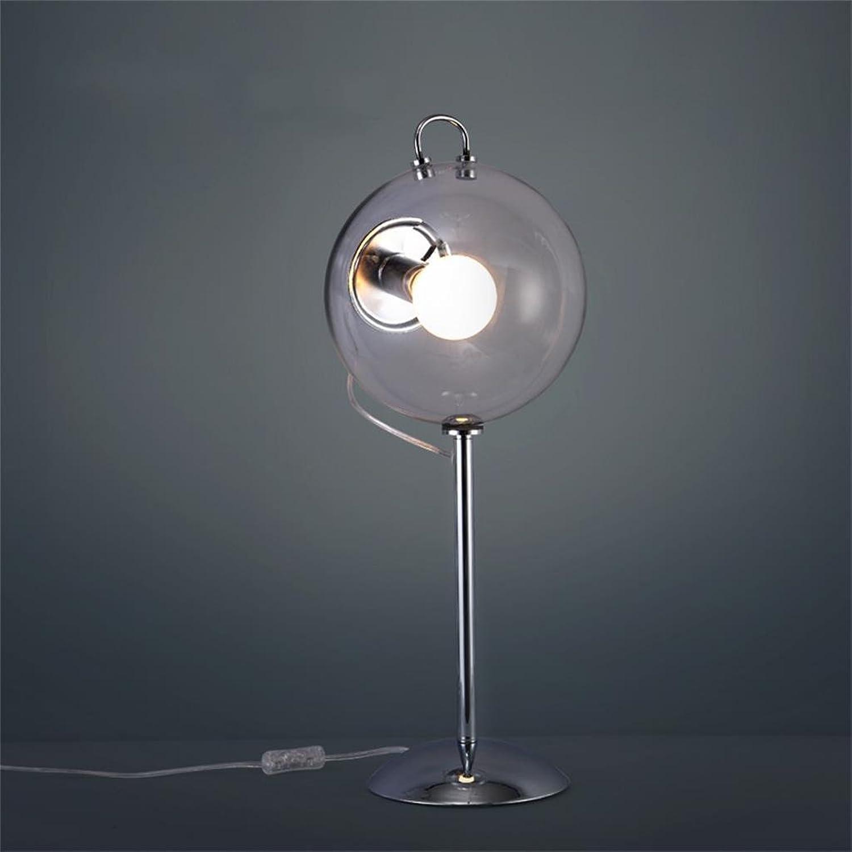 HOME UK-Seifenblase Glaslampe modernen minimalistischen Schlafzimmer Nachttischlampe B01N3LLBAQ       Economy