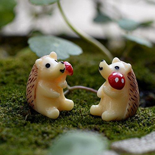 kangql Lot de 2 Mini Figurines en résine pour décoration de Paysage, Plantes Grasses