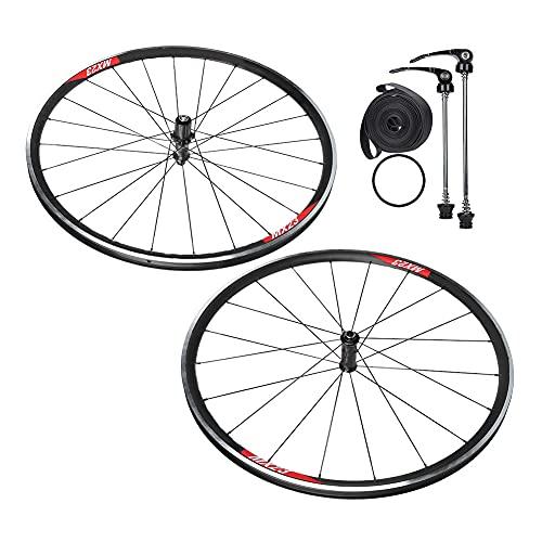 Juego de freno de rueda de bicicleta de carretera, Juego de freno de disco de rueda de aleación de aluminio para bicicleta Rueda delantera delantera de bicicleta V/C Freno de llanta de cubo para bicic