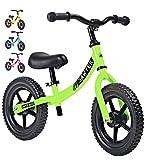 Sawyer - Bicicleta Sin Pedales Ultraligera - Niños 2, 3 y 4 Años (Verde)