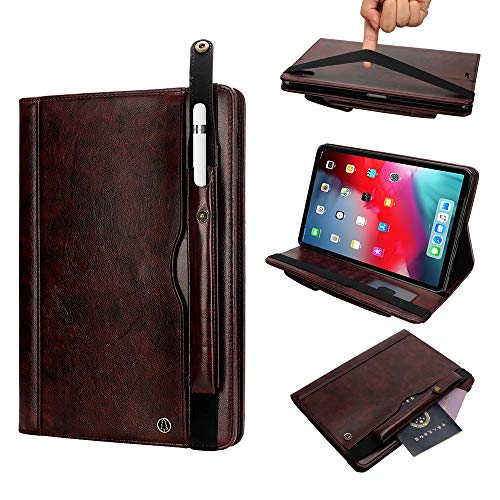 Find Discount MeiLiio Leather Case iPad 10.2 2019 Cover, Business Smart Shell Flip Case with Multi V...