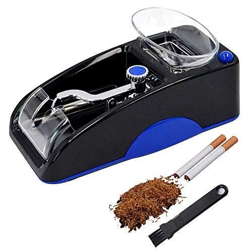 XXzhang Mini máquina automática para enrollar Tabaco para Cigarrillos, Rodillo automático, Padre de los Hombres, Azul