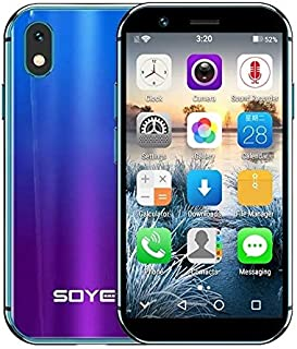 ShenZhen Brand Phones SOYES XS, 3GB+32GB, 3.2 inch Android 6.0 MTK6737 Quad Core up to 1.3GHz, Dual SIM, Bluetooth, WiFi, GPS, Network: 4G, Support Google Play (Black) (Color : Colour)