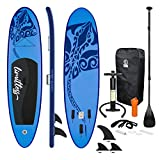 ECD Germany Tabla Hinchable Limitless Paddle Surf/Sup 308 x 76 x 10 cm Azul Stand up...
