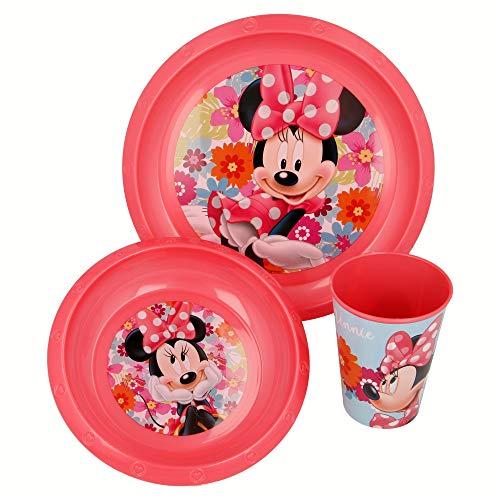 Minnie Mouse – Ensemble de Tasse, Assiette et Bol Stor 23710