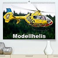 Modellhelis (Premium, hochwertiger DIN A2 Wandkalender 2022, Kunstdruck in Hochglanz): Modellhelikopter im Flug fotografiert (Monatskalender, 14 Seiten )