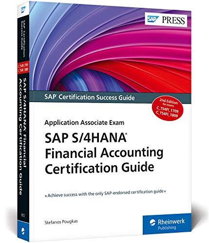 Compare Textbook Prices for SAP S/4HANA Financial Accounting Certification Guide  SAP PRESS 2nd Edition ISBN 9781493218127 by Stefanos Pougkas