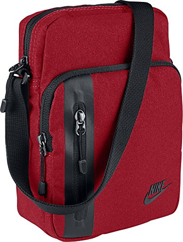 Nike Core S Items 3.0 Schultertasche, University Red/Black, 23 x 15 x 7.5 cm, 3 Liter