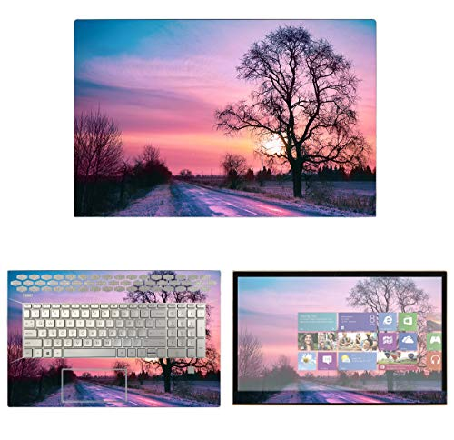 Decalrus - Protective Decal Skin Sticker for HP Envy 17M-CE1013DX / CE0030NR / CE0031NR (17.3