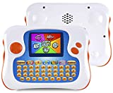 WOLSEN Kids Tablet,Learning Tablet for Kids, PDA Style English/Spanish Bilingual Educational Toys