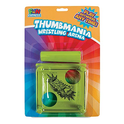 Fun Express - Bc Thumb Wrestling - Toys - Games - Indoor & Mini Game Sets - 12 Pieces