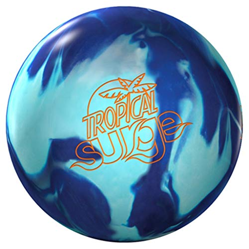 Storm Unisex's Tropical Surge Teal/Blue Bowling Ball, 8 UK