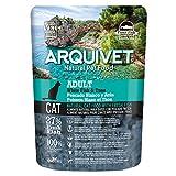 ARQUIVET - Pack 8 Bolsas Pienso de Pescado Blanco y atún Frescos para Gatos - Comida para Gatos - Alimentos para Gatos - Comida para felinos - Cantidad: 2800 gr (350 gr x 8 Unidades)