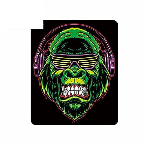 A/X 13 cm 10,8 cm para Gorila con Auriculares Pegatina Creativa para Coche Pegatina para Ventana de Parachoques Adecuada