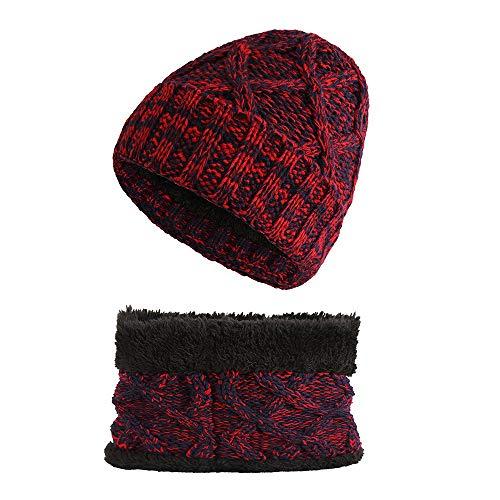 Bonnet en coton doux pour b/éb/é rouge rose rouge Miaoo