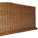 KDDFN Cortina de Caña,Estor Enrollable de Bambú,Cortina de Paja,Muebles para el Hogar,Respirable,Protección Privacidad (70 * 100cm/28 * 39in)