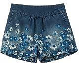 Desigual Denim_Coral Pantalones Cortos, Blue, 3/4/2020 para Niñas