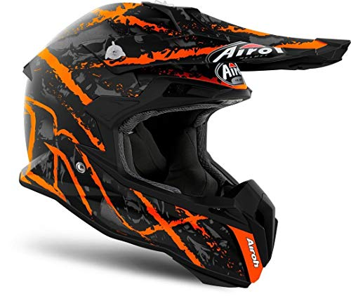 Airoh HELMET TERMINATOR OPEN VISION CARNAGE ORANGE GLOSS L