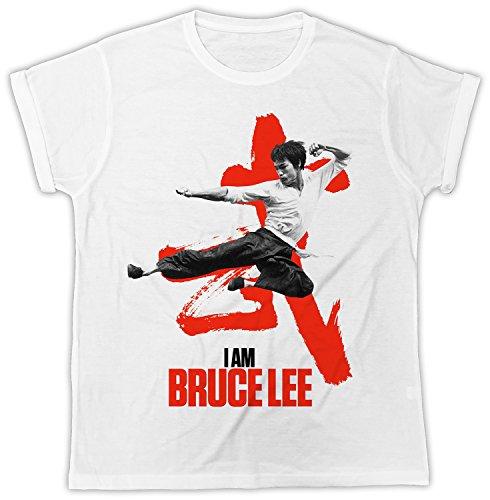 I Am Bruce Lee Poster Cooler Spruch, Slogan, lustiges Design, Geschenkidee