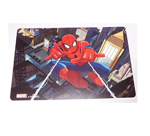 Lot 2 Set de table Spiderman Marvel Dessous Bureau Enfant Garçon - 024