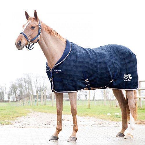 B Vertigo Theo Thermo-Decke für Pferde, Wollmischung, Blau, 165