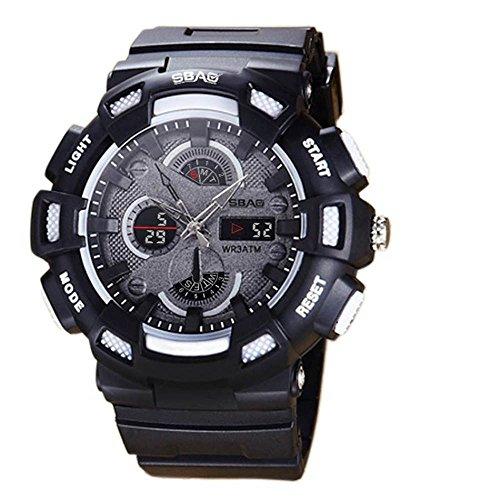 HWCOO SBAO Orologi Orologio sportivo da uomo moda coppia orologio sportivo (Color : 3)