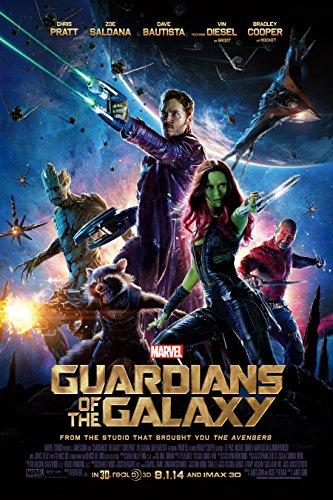 "Guardians of the Galaxy (2014) 12"" x 18"" - Movie Poster (THICK) - Chris Pratt, Zoe Saldana, Vin Diesel"