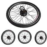 Kit de motor de bicicleta eléctrica, aleación de aluminio 36V 250W 26 pulgadas Bicicleta eléctrica Ebike Conversion Hub Motor Kit de rueda de motor, conversión de motor de bicicleta eléctrica(#3)
