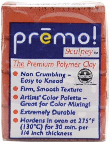 Modelliermasse Premo 57g kupfer