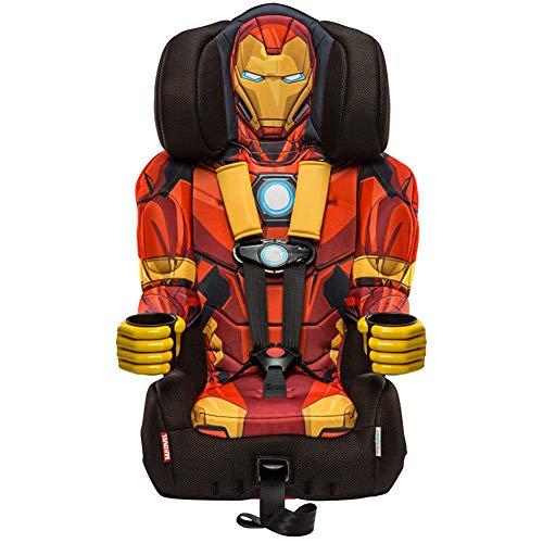 Find Discount KidsEmbrace 2-in-1 Harness Booster Car Seat, Marvel Avengers Iron Man