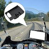 Ganmaov Supporto per Telefono da Moto con Caricatore USB, Supporto per Telefono da Moto 4.0-6.3 con GPS per Navigazione Smartphone per R1200GS ADV S1000XR Professional Clever serviceable