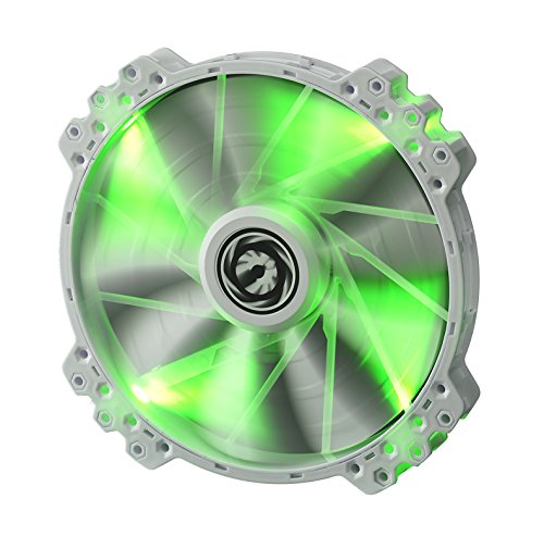 BitFenix Spectre PRO 200mm grüne LED - weiß