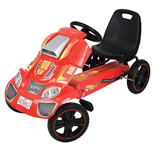 Hot Wheels Speedster Go Kart, Red