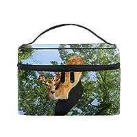 コスメポーチ 多機能収納ボックス 防水ケース 猫の化粧ポーチの目大容量 高品質 超軽量 旅行用