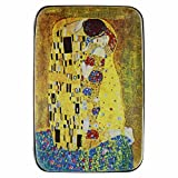 Fig Design Group Armored Wallet Credit Card Case 'The Kiss' by Gustav Klimt