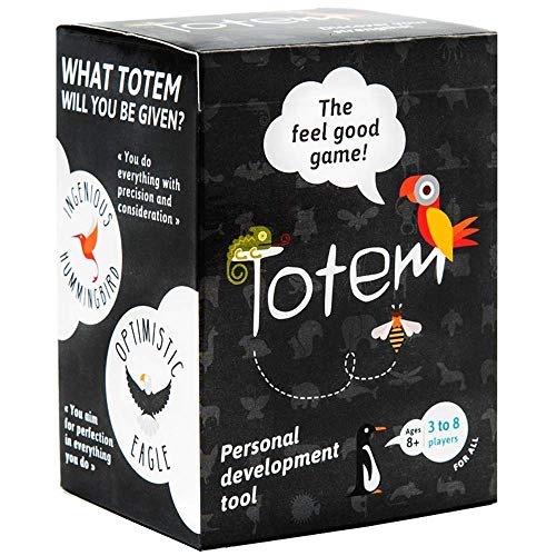 Totem the feel good game, Self-Esteem Game for Family Bonding, Positive Parent Children Relationships, Team Building, Counseling and Therapy