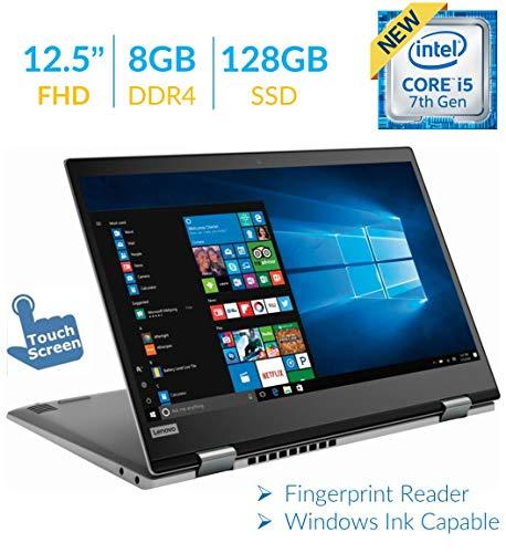 Lenovo Yoga 720 12.5'' 2-in-1 Touchscreen FHD IPS (1920 x 1080) Laptop PC, Intel Core i5-7200U, 8GB DDR4, 128GB SSD, USB Type-C, Bluetooth, Fingerprint Reader, Built for Windows Ink, Windows 10