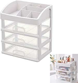 Jewelry Makeup Cosmetic Storage Display Organizer Organize Cosmetics Jewelry Box Clear Design For Easy Visibility