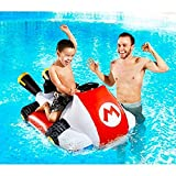 SUPER MARIO Nintendo Kart Floating Bumper Boat Pool Raft Float