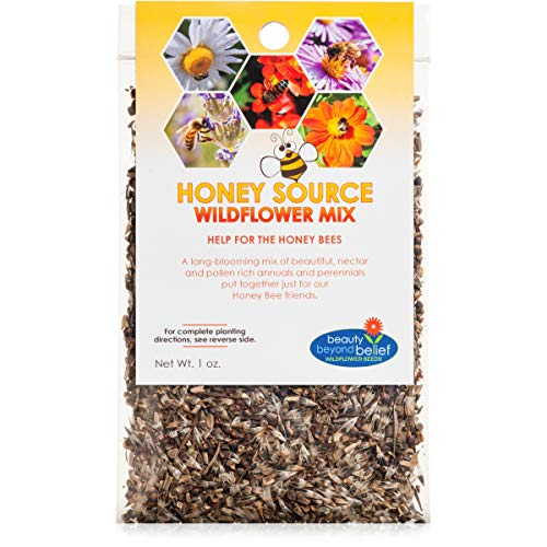 Honey Source Wildflower Seeds Mix for Honey Bees
