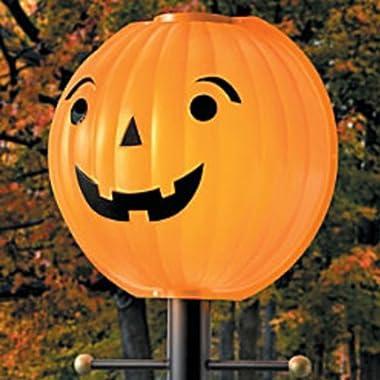 Thanksgiving Pumpkin Jack O Lantern Lamppost Cover Shade